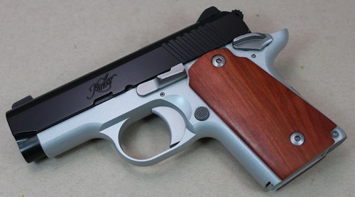 3054 - Stabilized Borneo Rosewood Kimber Micro Carry 9mm
