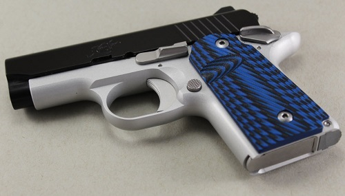 9019 Blue/Black G-10 Kimber Micro 9mm