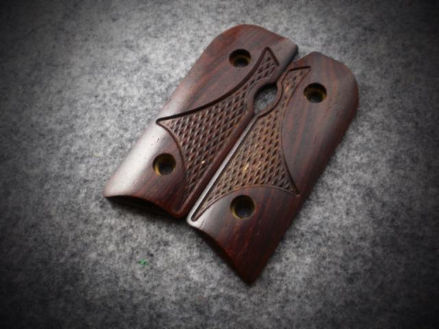 3512 Distinguished Dark Cocobolo with Western Checkering