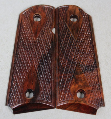 5507 Stabilized Aged Cocobolo for the  Compact 1911