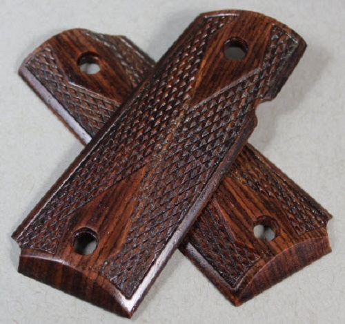 5509 Stabilize Aged Cocobolo for the  Compact 1911