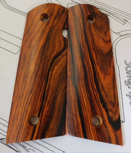 76004 Beautiful Mexican Cocobolo Magwell