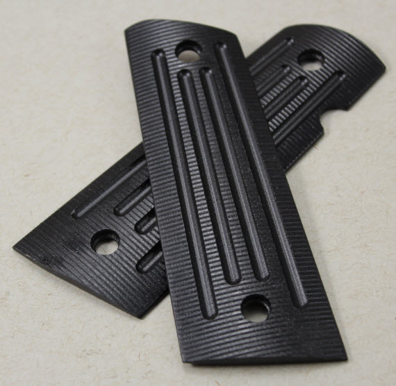 9039  Genuine Larry Davidsonin 4X4 Slim Grips-black G-10