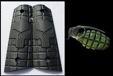 9053 Medium Grenade Punisher Skull